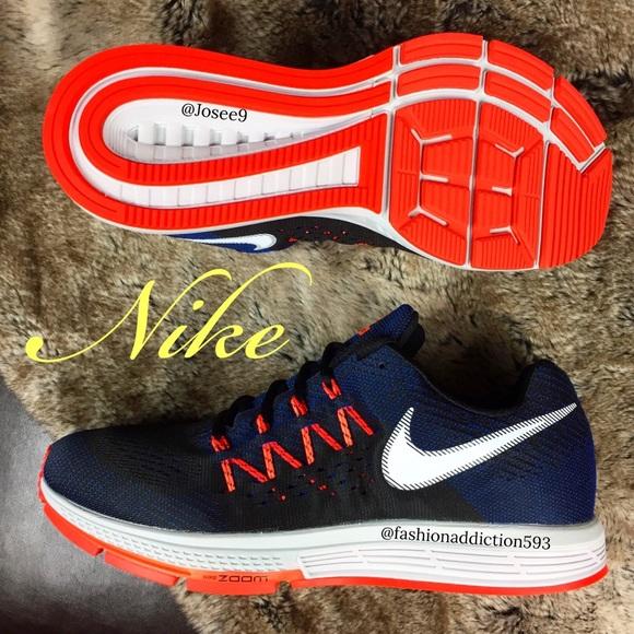 newest 6c61a d8f91 Nike Air Zoom Vomero 10 Men s Black Blue Shoes